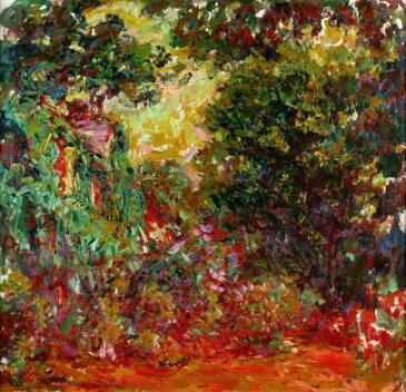 モネ バラ園から見た画家の家 印象派の壁紙 輸入 カスタム壁紙 PHOTOWALL / Rose Garden - Claude Monet (e317006) 貼ってはがせるフリース壁紙(不織布) 【海外取り寄せのため1カ月程度でお届け】 【代引き不可】