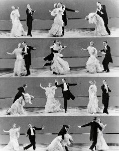 トップ・ハット 映画 ミュージカル ダンスの壁紙 輸入 カスタム壁紙 PHOTOWALL / Top Hat - Ginger Rogers and Fred Astaire (e316904) 貼ってはがせるフリース壁紙(不織布) 【海外取り寄せのため1カ月程度でお届け】 【代引き不可】 壁紙屋本舗