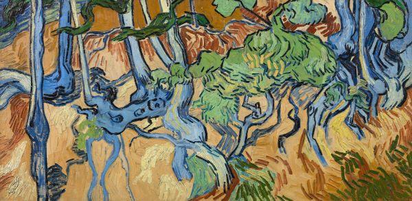 壁紙・装飾フィルム, 壁紙  PHOTOWALL Tree Roots - Vincent Van Gogh (e316934) () 1