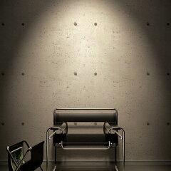 無機質なモダン部屋の定番!打ちっぱなしコンクリート柄のりも水も不要 すぐに張れる壁紙 のり...