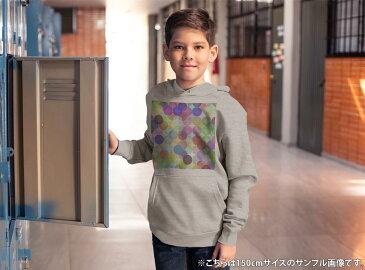パーカー キッズ ホワイト グレー ブラック デザイン 110 130 150 parker hooded sweatshirt フーディ 白 黒 灰色 子供 男の子 女の子 000490 水玉 ドット カラフル