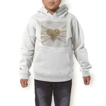 パーカー キッズ ホワイト グレー ブラック デザイン 110 130 150 parker hooded sweatshirt フーディ 白 黒 灰色 子供 男の子 女の子 008933 ハート 白 ホワイト 写真