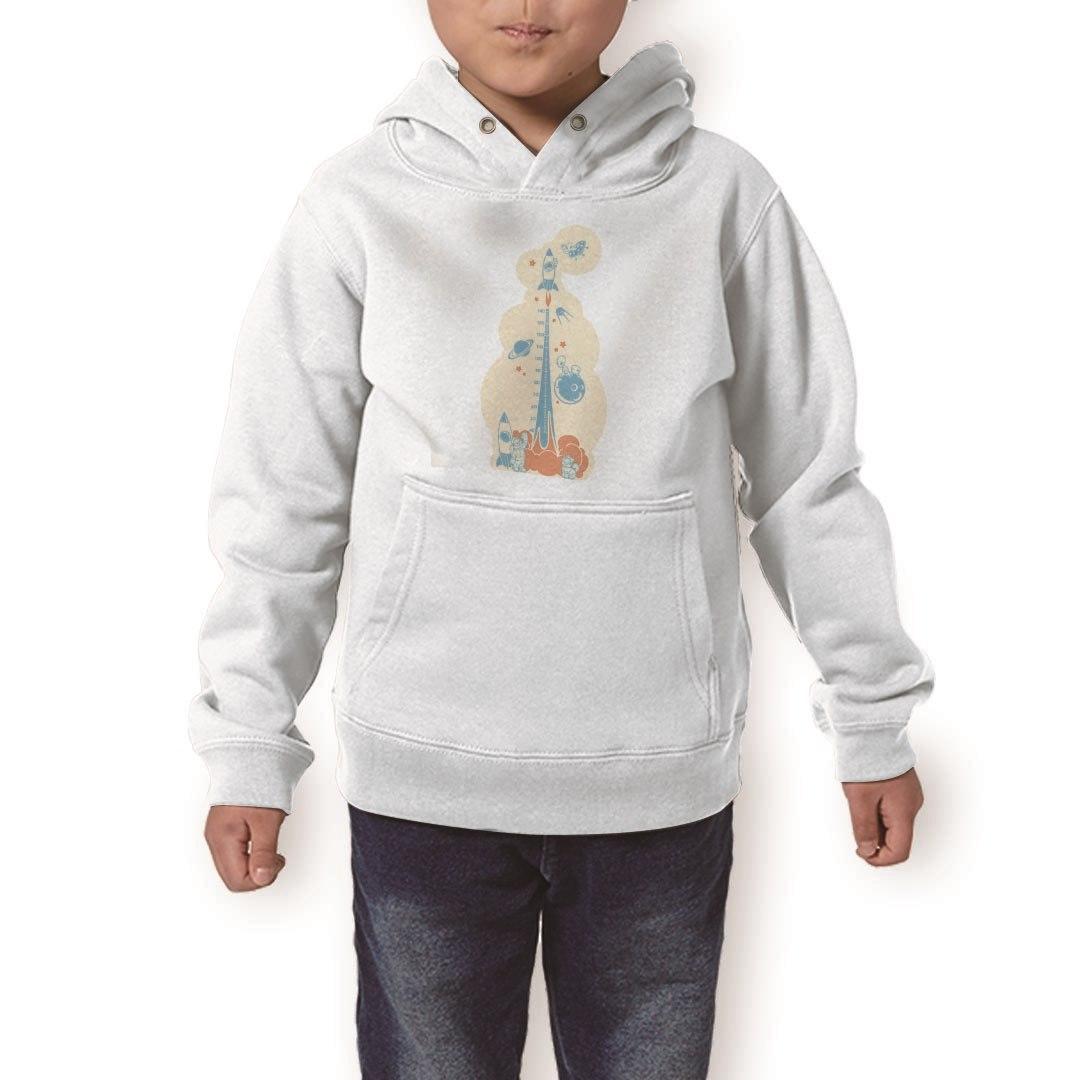 パーカー キッズ ホワイト グレー ブラック デザイン 110 130 150 parker hooded sweatshirt フーディ 白 黒 灰色 子供 男の子 女の子 013694 ウォールステッカー 身長計