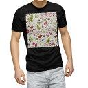 tシャツ メンズ 半袖 ブラック デザイン XS S M L XL 2XL Tシャツ ティーシャツ T shirt 黒 003414 クリスマス 冬 カラフル