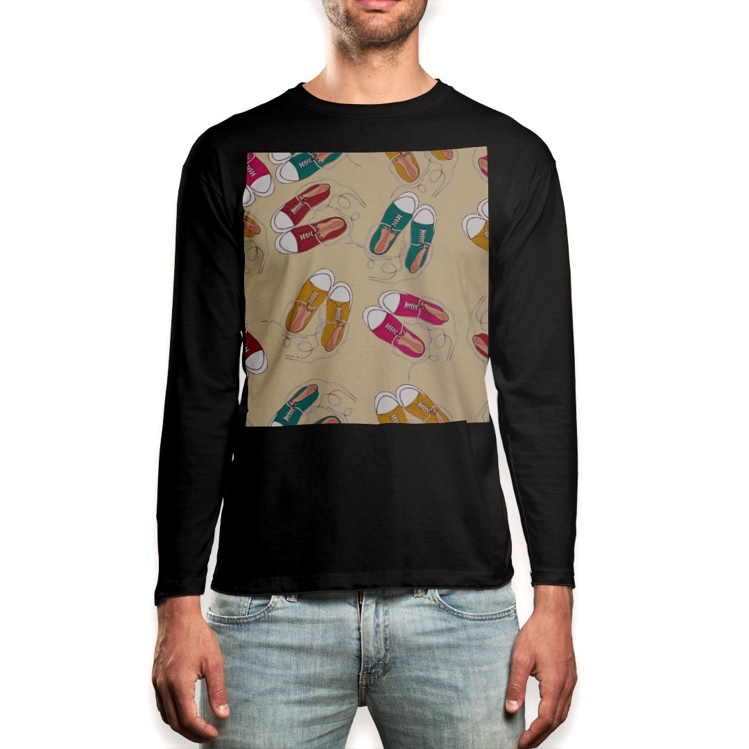 トップス, Tシャツ・カットソー  t XS S M L XL 2XL T black T shirt long sleeve 010313