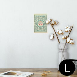 ポスター ウォールステッカー シール式ステッカー 飾り 89×127mm L版 写真 フォト 壁 インテリア おしゃれ  剥がせる wall sticker poster 010152 外国 英語 文字