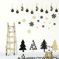 クリスマスシーズンに!華やかな雰囲気が楽しめるウォールステッカーは?