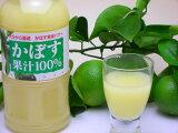 【かぼす】【カボス】かぼす果汁100%L500はっぱ