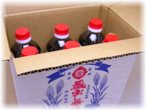 醤油/しょうゆ/刺身/さしみ/6本箱中身
