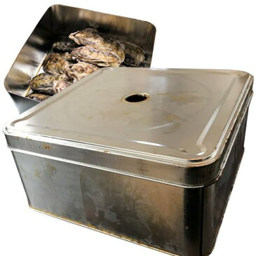 カンカン焼き用缶牡蠣や貝類などの食材蒸し焼き器 調理器具