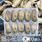 牡蠣ボイル牡蠣大10個入宮城県産業務用真カキ