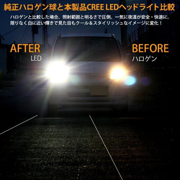 CREE製LEDヘッドライト比較