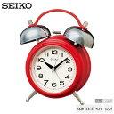 セイコー SEIKO KR508R レトロ ツイン ベル音 アラーム スヌーズ ライト スイープ クオーツ シンプル めざまし 時計 クオーツ 【お取り寄せ】【令和 ギフト 贈り物】