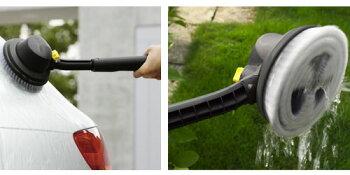 【お取り寄せ】ケルヒャー2.642-786.0回転ブラシ(黒)家庭用高圧洗浄機用オプションアクセサリー※固定ナットが付かないモデルで角度の調整ができません※【スーパーセール】【父の日】