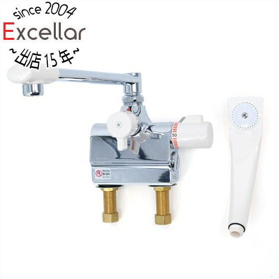 三栄水栓サーモデッキシャワー混合栓SK7800D-13