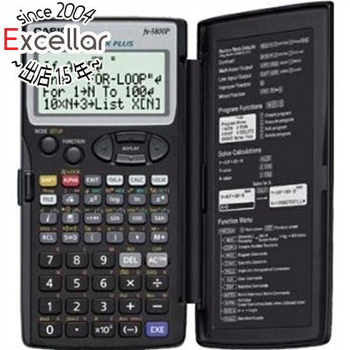 CASIO製 プログラム関数電卓 FX-5800P-N