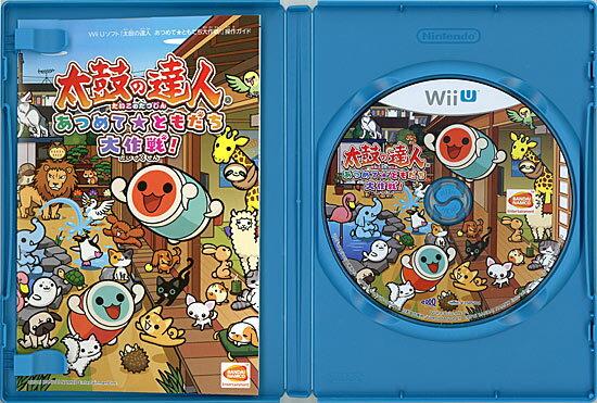 太鼓の達人 あつめて ともだち 大作戦! 「太鼓とバチ」1セット同梱版 Wii U
