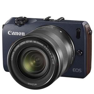 キヤノン【Canon】EOS M ダブルレンズキット ベイブルー EOS-M-W-lenskit-BL★【EOSMWlenskit】...