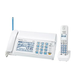 パナソニック【Panasonic】デジタルコードレス普通紙ファクス(子機1台タイプ)KX-PD703UD-W★【KXPD703UD】