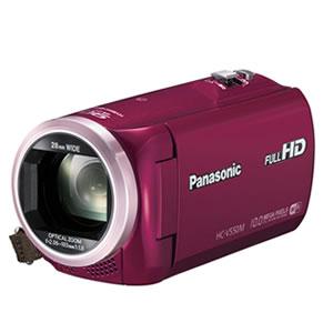 パナソニック【Panasonic】デジタルビデオカメラ HC-V550M-R(レッド)★【HC…