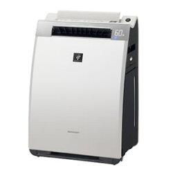 シャープ【SHARP】加湿空気清浄機KI-EX75-W(ホワイト系)★【KIEX75】