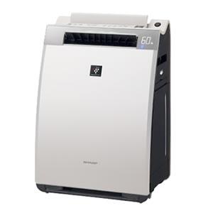 シャープ【あす楽】加湿空気清浄機 KI-EX75-W(ホワイト系)★【KIEX75】
