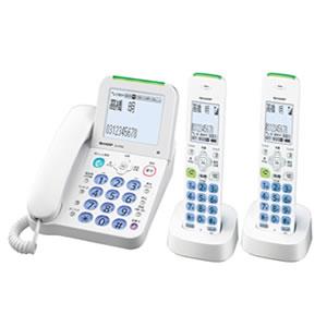 シャープ【SHARP】デジタルコードレス電話機 JD-AT80CW★【JDAT80CW】