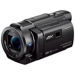 ソニー【SONY】64GBメモリー内蔵4KビデオカメラFDR-AXP35-B★【FDRAXP35B】