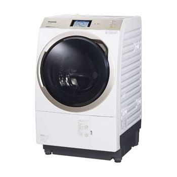 パナソニック【代引・日時指定不可】左開き ななめドラム洗濯乾燥機 NA-VX9900L-W★【NAVX9900LW】