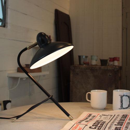 Arles desk lamp white・brown【TC】【RCP】【DIC】〔テーブルランプ デスクライト〕 【新生活応援フェア】税込3,000円以上で送料無料