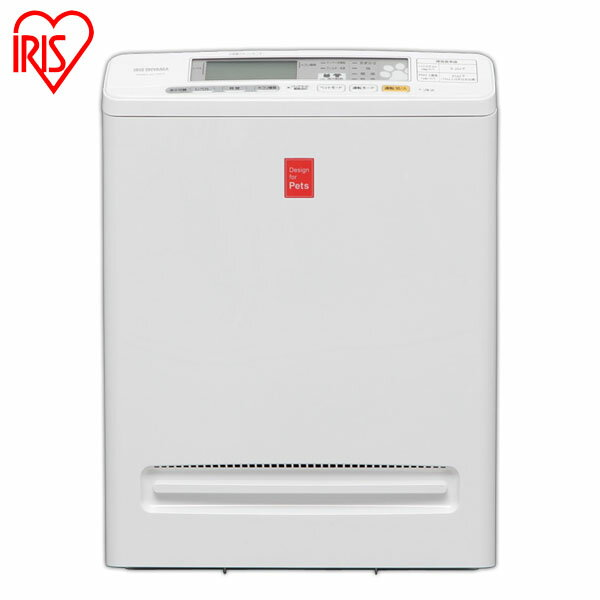 アイリスオーヤマ アイリス 空気清浄機 PMMS-AC100-P ホワイト 花粉対策【送料無料】