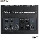 ローランド〔Roland〕USBオーディオインターフェースTRICAPTURE UA-33【TC】【KM】【送料無料】
