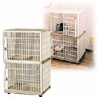 アイリスオーヤマ プラケージ662囲い ペット用品 家具 室内 動物
