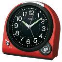 SEIKO〔セイコー〕目覚し時計 NQ705R置き時計 置時計 アラーム とけい トケイ アナログ 目覚まし時計 新生活 スヌーズ機能 ライト付き