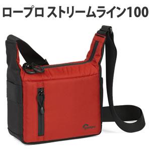 Lowepro (ロープロ) ストリームライン100 レッド/ブラック ミラーレス用カメラバッグ