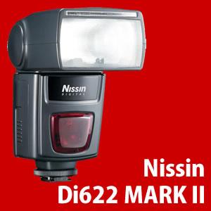 ニッシン Di622 MARK II キヤノン用 デジタルTTLストロボ (E-TTL/E-TTL II対応)