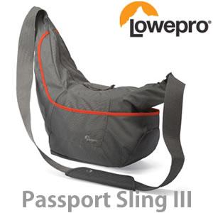 ロープロ パスポート スリング 3 グレー 【メール便不可】