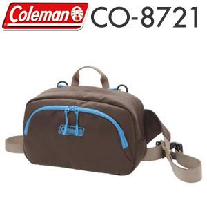 コールマン 3WAYカメラボディバッグ ブラウン 【CO-8723】【快適家電デジタルライフ】