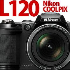 【エントリーでポイント10倍!】【同梱不可】【カード可】Nikon デジカメ COOLPIX L120【0315_s...