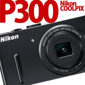 【在庫あり】Nikon デジカメ COOLPIX P300 BK ブラック