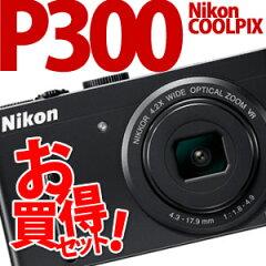 【在庫あり】【★SDカード4GB&SDケース・ストラップ等セット!】Nikon デジカメ COOLPIX P300 ...