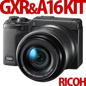 【延長保証可】【在庫あり】RICOH デジカメ GXR+A16 KIT 【GXRボディ + RICOH LENS A16 24-85mm...