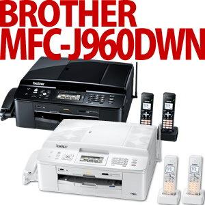 【在庫あり】BROTHER【A4カラーインクジェット複合機】 PRIVIO MFC-J960DWN 【子機2台付きモデ...
