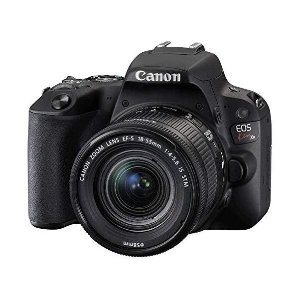 Canon [キヤノン] デジタル一眼レフカメラ EOS Kiss X9 レンズキット[カラー選択式:ブラック/ホワイト/シルバー]【快適家電デジタルライフ】