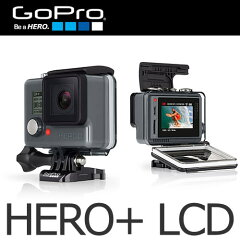 【送料無料 / 国内正規品】 GoPro(ゴープロ)【カメラ】 CHDHB-101-JP HERO+ LCD【メール便不可】