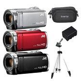【得々セット!】JVCケンウッド ハイビジョンメモリームービー GZ-E880 [Everio/エブリオ][ムービーカメラ][ビデオカメラ][カラー選択式]【快適家電デジタルライフ】
