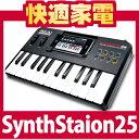 【全エントリー利用で最大ポイント9倍】【在庫あり】AKAI SynthStation25 MIDIキーボード/コン...