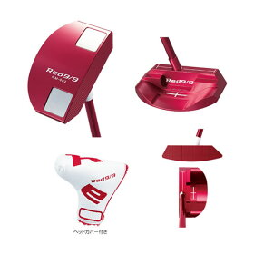 【パター】キャスコ85229-02Red9/9RM-002マレットタイプ[赤パタ/アカパタ/レッドパター]【ラッピング】【快適家電デジタルライフ】
