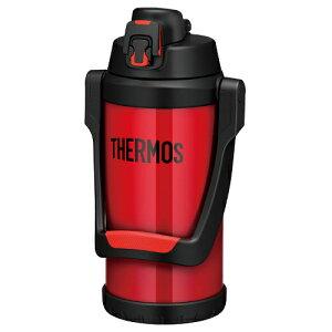 THERMOS サーモス 真空断熱スポーツジャグ FFV-2000 (FIR)ファイアーレッド(2.0L/2000ml)(スポーツドリンク OK)(保冷専用水筒)(快適家電デジタルライフ)