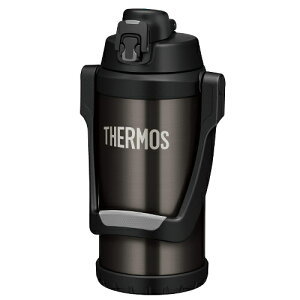 THERMOS サーモス 真空断熱スポーツジャグ FFV-2000(BKGY)ブラックグレー(2.0L/2000ml)(スポーツドリンク OK)(保冷専用水筒)(快適家電デジタルライフ)